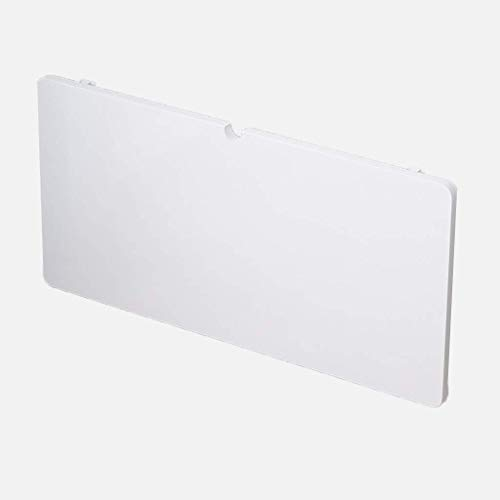 JXXDDQ de Pared Mesa Plegable Mesa de Ordenador Blanco con Cable de alimentación Agujero niños Mesa de Mesa de la Cocina (Size : 100x50cm)