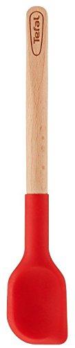 Tefal - K2305914 - Ingenio Bois - Tartineur, Bois / Rouge, 2,2 x 24,5 x 9,2 cm