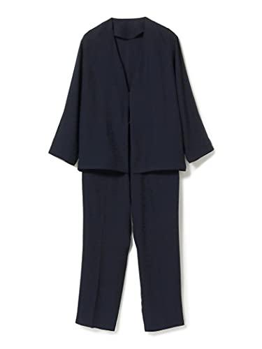 (ビームスライツ)BEAMS LIGHTS/スーツ 【WEB限定】 ニューノーマル セットアップ (ノーカラージャケット イージーパンツ 2点セット) メンズ NAVY M