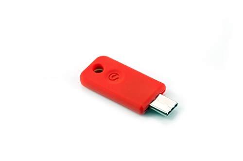 SoloKeys Solo - Sicherheitsschlüssel Zwei-Faktor Authentifizierung, U2F und FIDO2 - USB-C