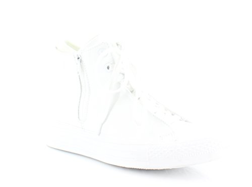 Converse Chuck Taylor All Star Hi Top Selene Monochrome Leather White