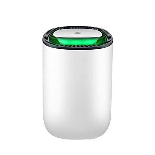Deshumidificador 600ml Hogar Pequeño Mini Ultra-silencioso Ahorro de energía La descongelación automática es muy adecuada para el dormitorio, la cocina y el baño.