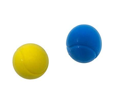 E-Deals - Pelotas de Tenis de Espuma Suave (70 mm), 1 Azul...