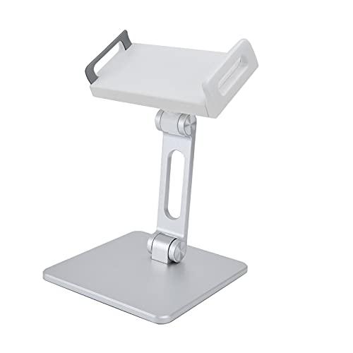 Tabletstandaard, gebruiksvriendelijke tablethouder 150° inklapbare arm voor verschillende tablets en smartphones