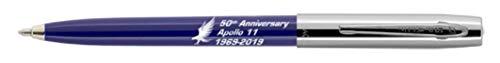 Fisher Space Pen Special Edition Apollo 11 50Th Anniversary CapOMatic Space Pen Chrome CapSilver/Blue