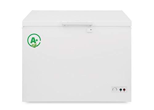 Tiefkühltruhe CS3320 / Kühlschrank/Gefriertruhe/A+ / Weiß/Verriegelbar / 295 liter netto / 104,1 cm Lang