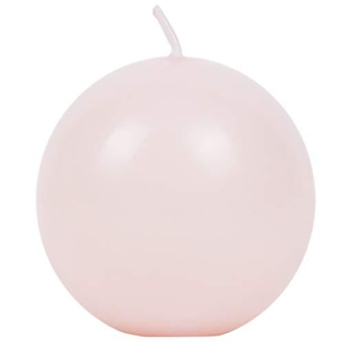 Adpal Candela a forma di candela, colore rosa, brillante, 60 mm, per Ducrh