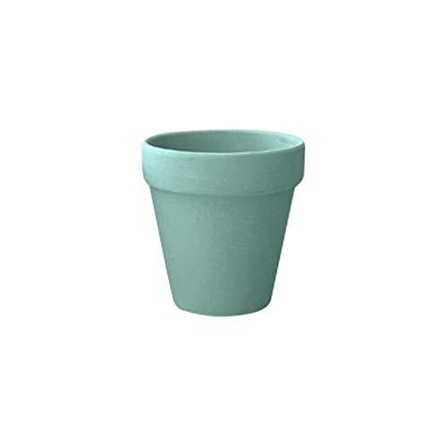 Souarts potten bloempotten potten plantenpot ronde bloemenbakken vetplantenpotten voor huis tuin decoratie bruin roze blauw groen wit koffiebruin zwart goud 1 stuk