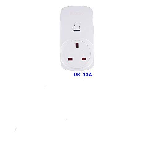 Smart WiFi mobiele telefoon-app, synchronisatieschakelaar, afstandsbediening, Engels, standaard 16 A, wit