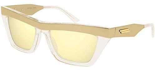 Gafas de Sol Bottega Veneta BV1056S Gold/Gold 56/17/135 unisex adulto
