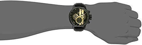 Invicta Men's S1 Rally 48mm Stainless Steel Chronograph Quartz Watch with Black Leather Band, Black (Model: 19289) WeeklyReviewer