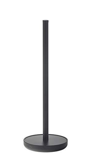 Tiger Urban Reserverollenhalter freistehend, Farbe: Schwarz, mit austauschbaren Endkappen zur individuellen Gestaltung