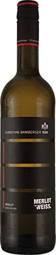 Christian Bamberger Merlot Blanc de Noir (1x 0,75l) Weißwein trocken