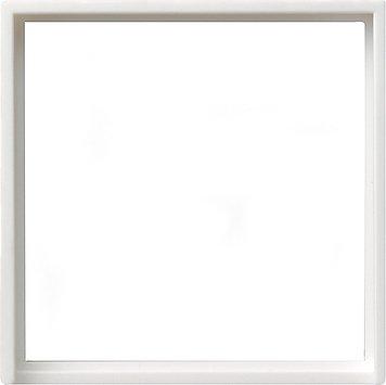 GIRA Serie Standard 55 - reinweiß glänzend (028203) Zwischenring 50x50mm