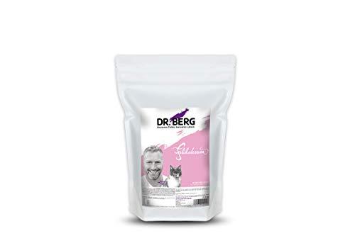 Dr. Berg FELIKATESSEN Huhn & Lachs - Getreidefreies, hypoallergenes Katzenfutter - Trockenfutter für Katzen Aller Altersstufen - extra verträglich und lecker durch natürliche Zutaten (1 kg)