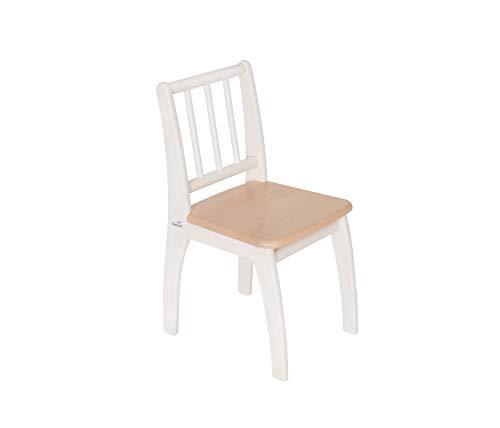 Geuther Krzesło pasuje do mebli do siedzenia Bambino, naturalnie białe