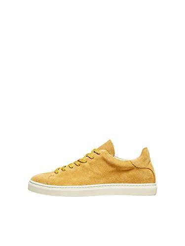 SELECTED HOMME Herren Sneaker Low goldgelb 45