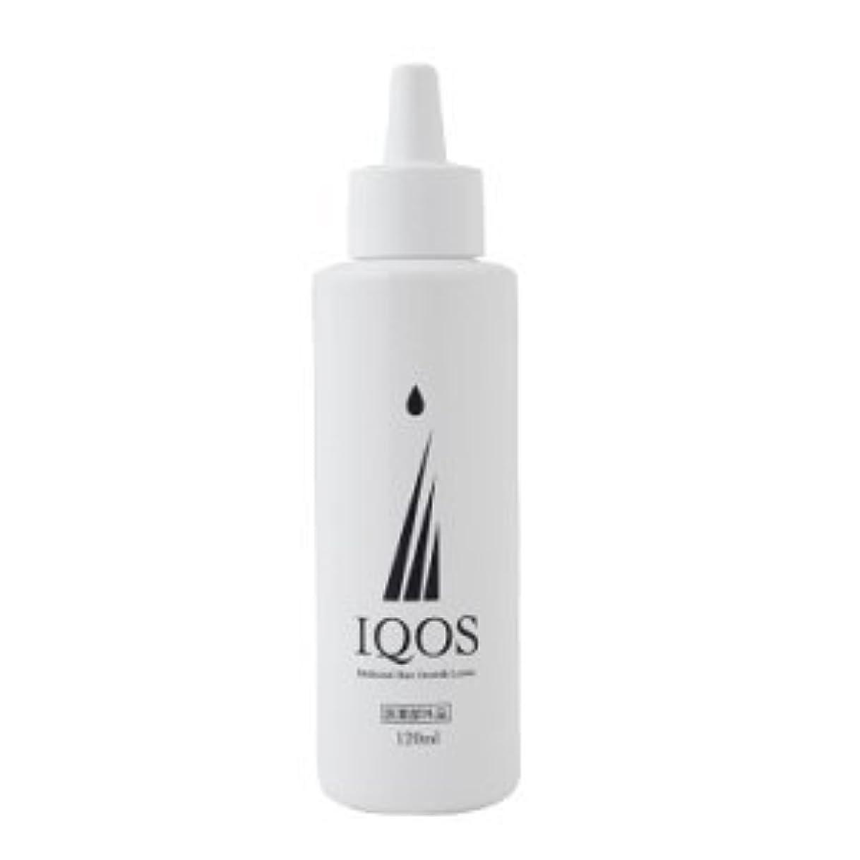 領域土砂降り憧れM-034を最大級配合 薬用育毛剤 IQOS イクオス 120ml