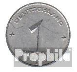 DDR Jägernr: 1501 1948 A sehr schön Aluminium 1948 1 Pfennig Ähre auf Zahnrad (Münzen für Sammler)