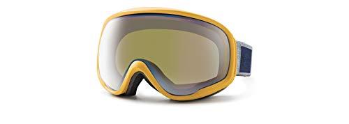 Zeal Optics Herren Schutzbrille Slate Dark Night, unisex, 11276, Mayan Gold / Polarized Bluebird HT, Einheitsgröße