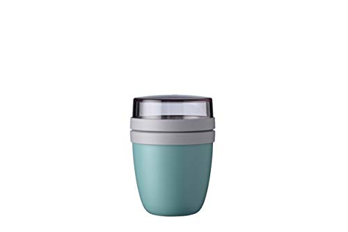 Mepal Lunchpot Ellipse Mini, PP/PCTG, Nordic Green, 1
