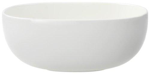 Villeroy & Boch Urban Nature runde Schüssel, Premium Porzellan, weiß, 25 cm