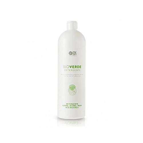 Eos spa Detergente BioVerde Intimo Corpo con Tea Tree Oil e Aloe Vera - Certificato non Irritante - 1000 ml