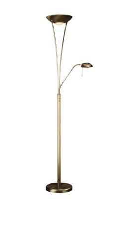 Massive 420700610 vloerlamp brons R7S 268 W halogeen - vloerlamp (woonkamer, brons, glas, metaal, kunststof, IP20, I, romantisch)