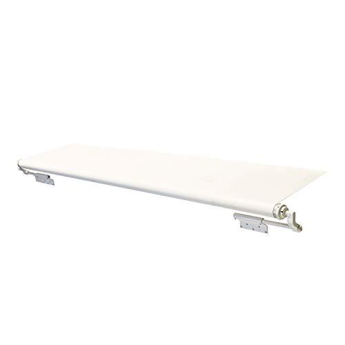 "Solera White Slide Topper Awning - 9' (8'7"" Fabric) -  Lippert Components, V000163290"