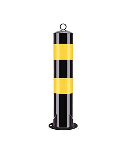 GJX Conos de Seguridad Post de tráfico plástico con Collares Reflectantes, barreras de estacionamiento, 55 * 11.4cm