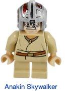 LEGO Anakin Skywalker Star Wars Minifigura