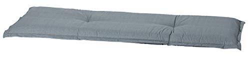 "Madison 4-Sitzer Bankauflage A 046"", ca. 180 x 48 x 8 cm, Uni grau"
