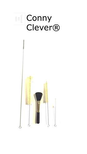 5 tlg Set für Espressomaschinen/Milchschlauchbürste/Reinigungsbürste mit Bürste und Pinsel