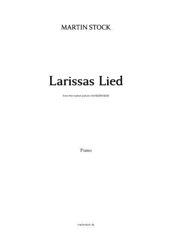 Larissas Lied : für Klavier