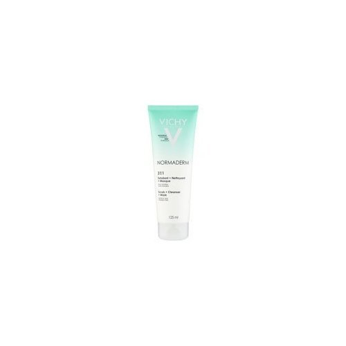 VICHY Laboratories Normaderm 3-In-1 Scrub, Cleanser and Mask 125ml