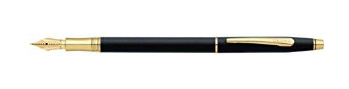 Cross Classic Century Classic Black Fountain Pen with Fine Nib (AT0086-79FF)
