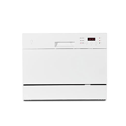 MEDION Tischgeschirrspüler (6 Gedecke Fassungsvermögen, 6 Reinigungsprogramme, 51 dB, 174 kWh/Jahr, MD16698)