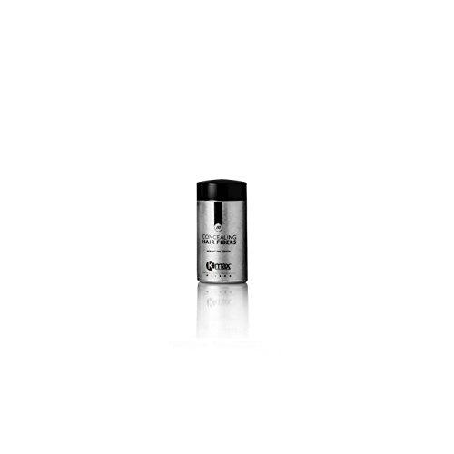 Kmax - Fibre Capillari Anti Diradamento, rimedio per perdita capelli - Travel 3 gr - Castano scuro
