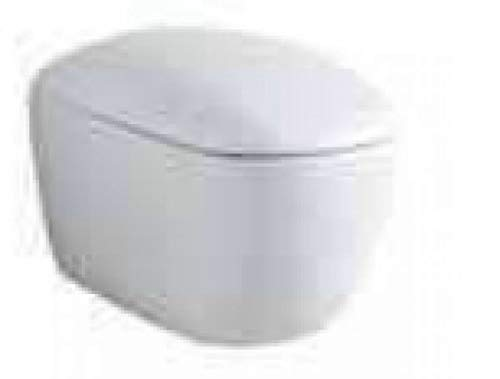 Keramag Citterio Tiefspül WC 500510011, 4,5/6l, wandhängend, 560mm Ausladung, spülrandlos, Weiss mit KeraTect