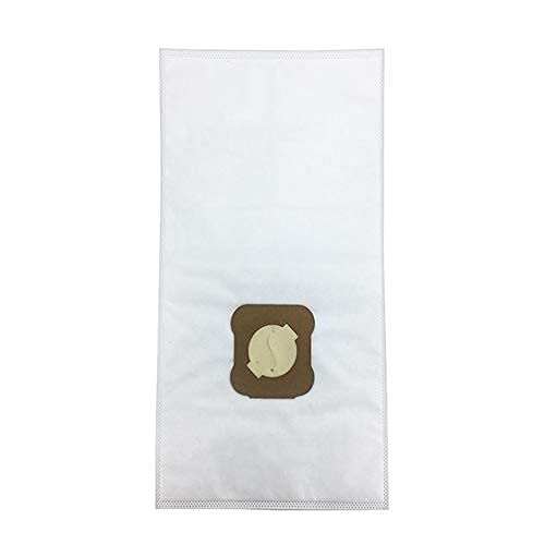 Tragbare Staubsaugerbeutel 2 Hepa Allergen Stofffilterbeutel für Kirby G7E G10 G10E G5 G6 KY10 MK2 MK3 Avilar Langlebig (Farbe: Weiß)