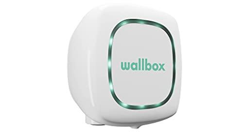 Wallbox Pulsar caricatore per auto elettriche con una potenza di carica fino a 7,4 kW, connettore di tipo 1 cavo da 5 m. Connettività Bluetooth.