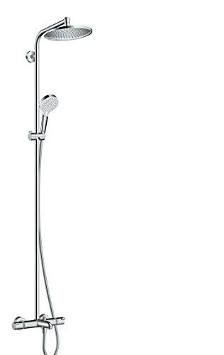 hansgrohe Crometta S 240 Wannen-Duschsystem, 2 Strahlarten, Chrom