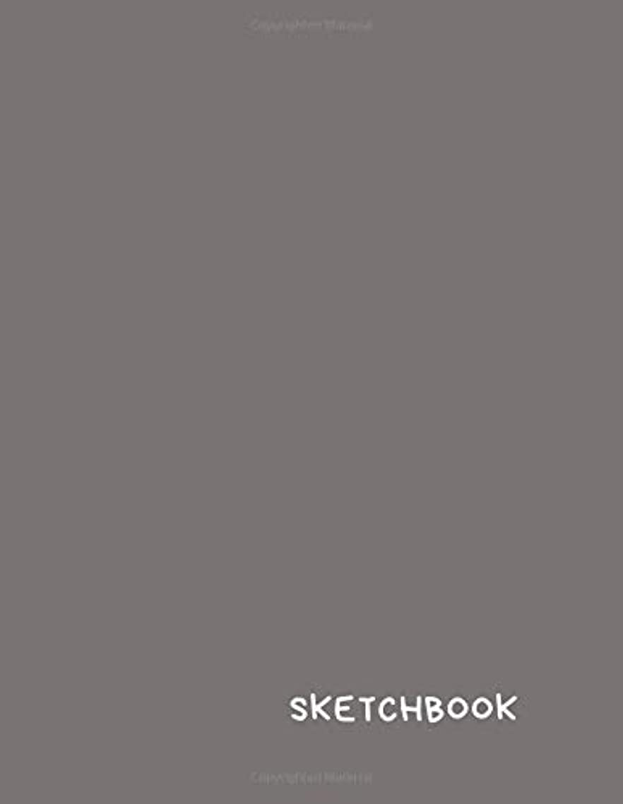 悪行契約ペインSketchbook: for Drawing, Sketching, Notebook, Journal, Diary (110 Pages, Blank, 8.5 x 11) Unlined, Matte Cover