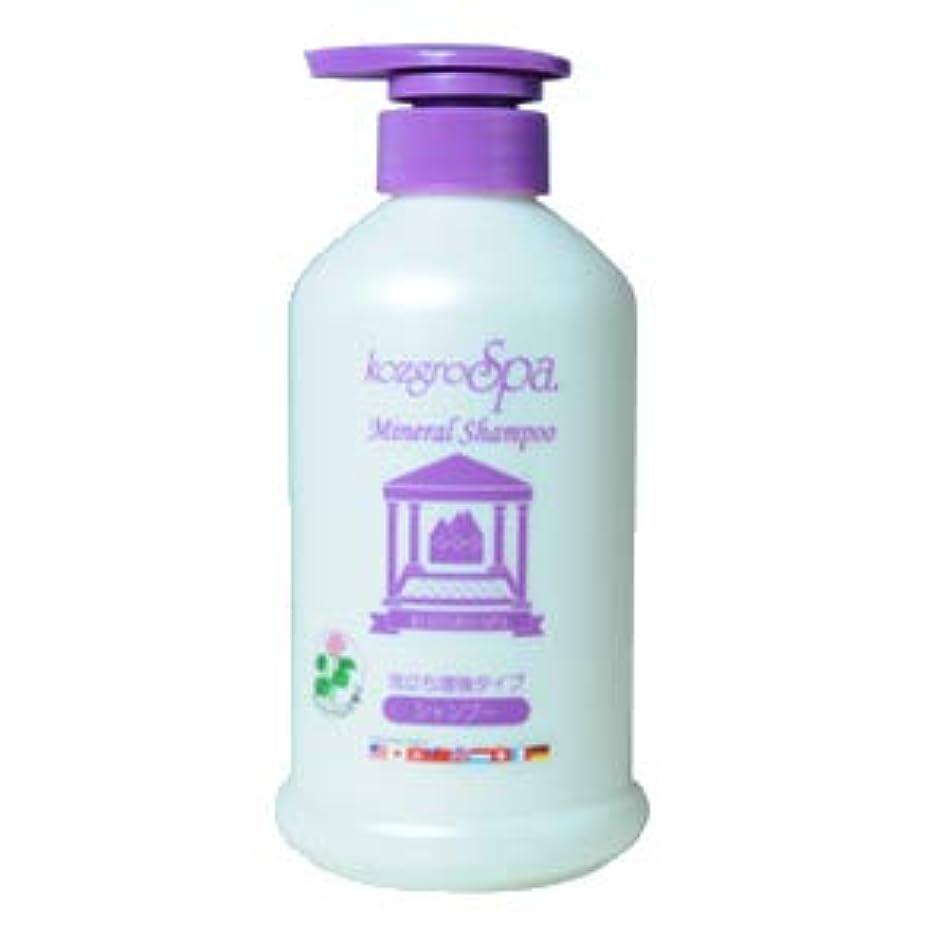 ペストリー無臭毛細血管コズグロ スパ ミネラル シャンプー プレミアム ライラックの香り (泡立ち増強タイプ) 500mL