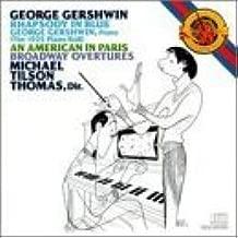 Rhapsody in Blue: An American in Paris, Broadway Overtures, Gershwin Piano Roll by George Gershwin, Michael Tilson Thomas (1990-10-25)