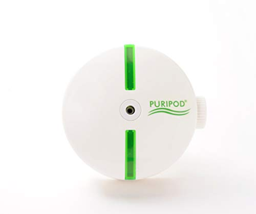 BEST DIRECT Puripod As Seen on TV Luftreiniger und Ionisator Saubere und frische Luft Elektrisch Leise für zu Hause Heimklima-Reiniger mit Filter Gegen Allergien, Staub, Pollen, Rauchen und Rauchen