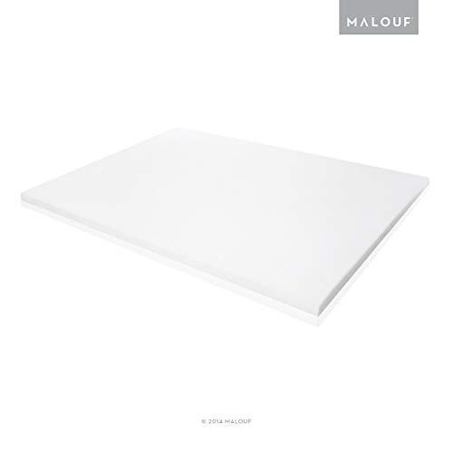 ISOLUS 2 Inch Ventilated Memory Foam Mattress Topper - 3 Year U.S. Warranty - Queen