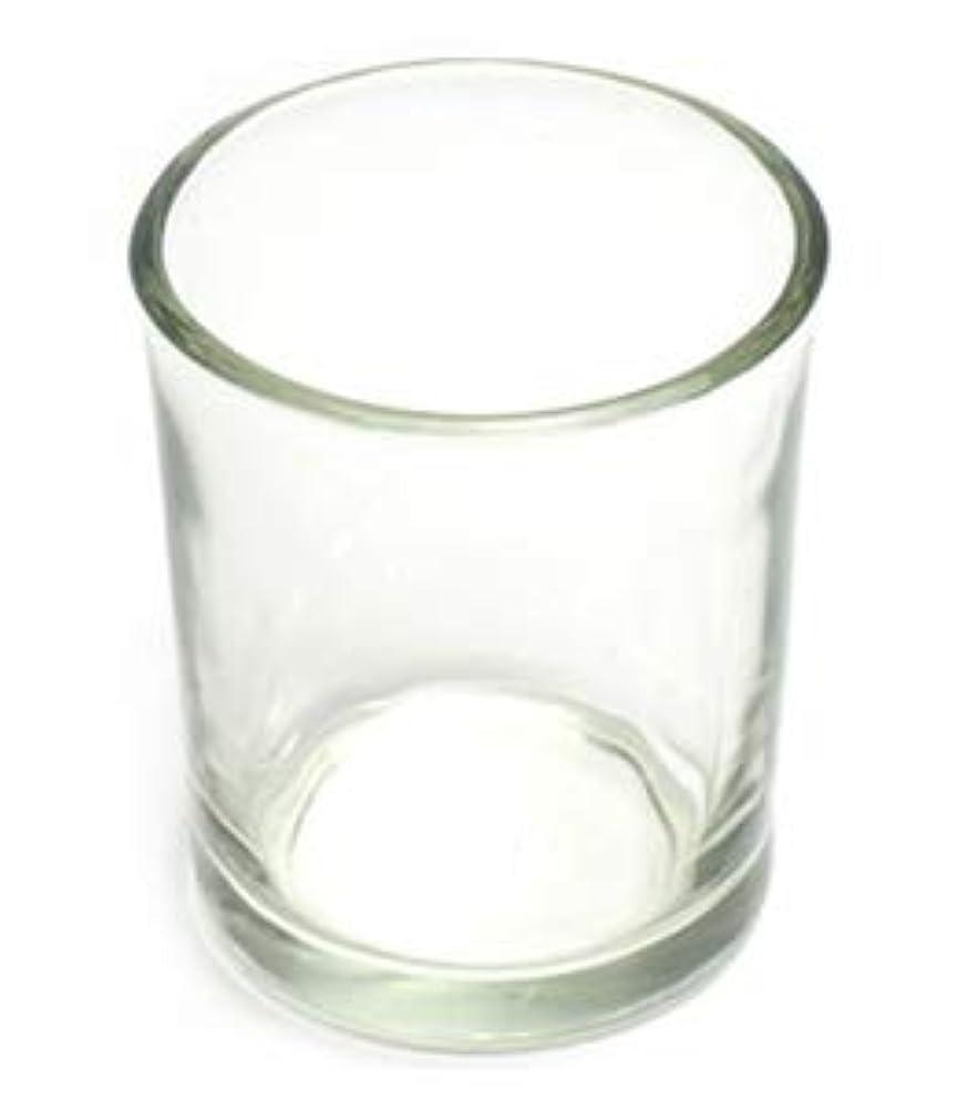 繁雑偽善者リングキャンドルホルダー ガラス シンプル[小] 192個【キャンドルスタンド 透明 クリア おしゃれ ろうそく立て】