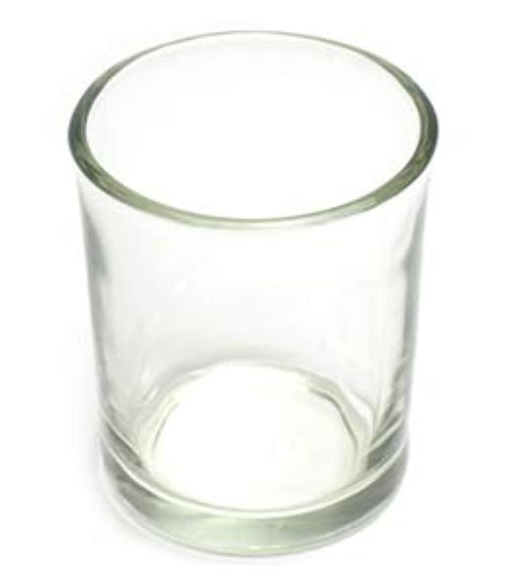 ドラッグ審判汚染されたキャンドルホルダー ガラス シンプル[小] 192個【キャンドルスタンド 透明 クリア おしゃれ ろうそく立て】