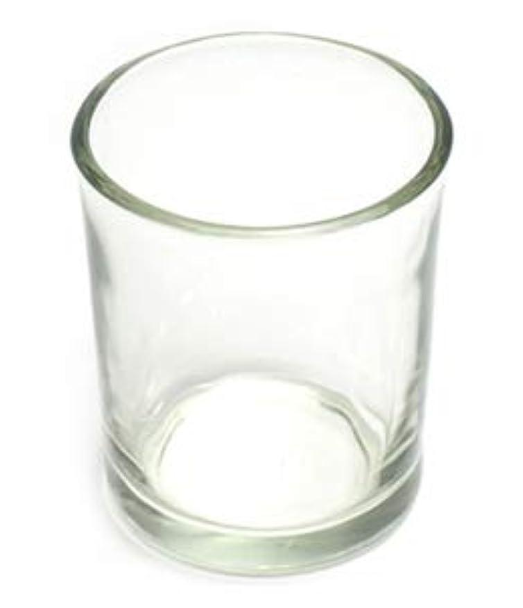 警報北ヒロインキャンドルホルダー ガラス シンプル[小] 1個 キャンドルスタンド 透明 クリア おしゃれ ろうそく立て